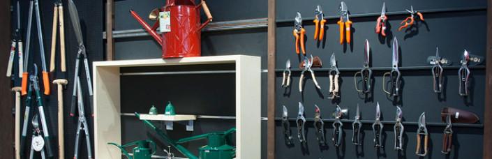 Gartenwerkzeuge im Sortiment der Dictum Shops München und Metten