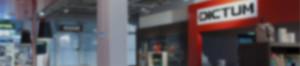 Kontaktinformationen zu den Dictum Ladengeschäften in München und Metten