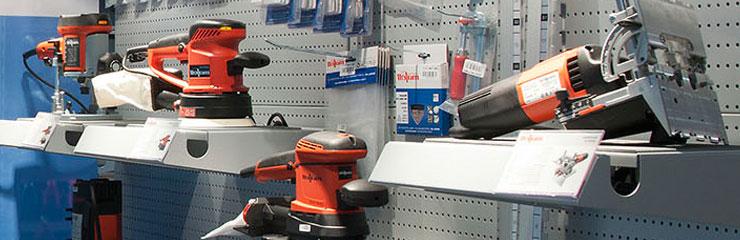 Elektrowerkzeuge im Sortiment der Dictum Shops München und Metten