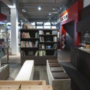 Bücherecke - Zeit zum Verweilen im Dictum Shop München