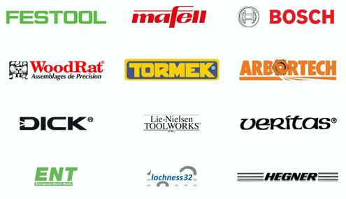 Marken-Hersteller: Festool, Mafell, Bosch Professional, Tormek, Woodrat, Arbortech, uvm. - Dictum-Shops München und Metten