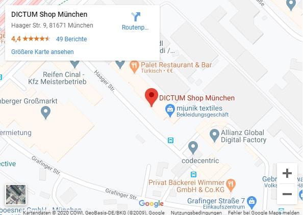 Anfahrt München